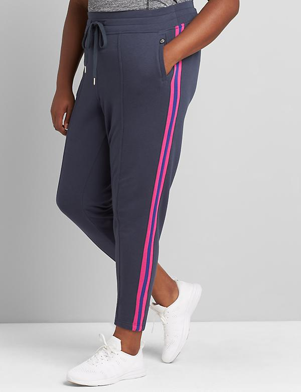 LIVI Metro Jogger - French Terry With Side Stripes