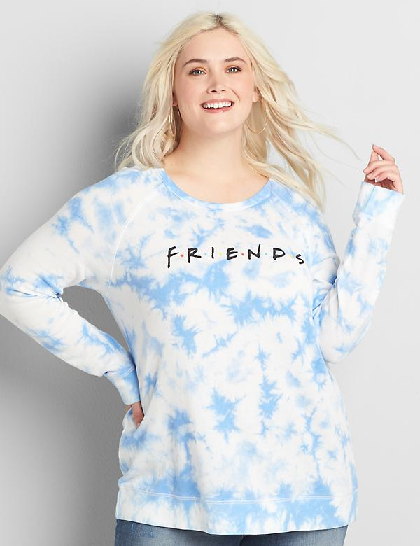 French Terry Friends Graphic Sweatshirt