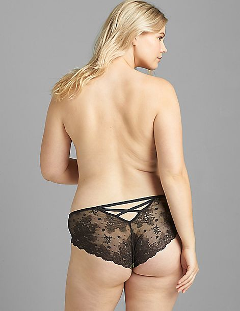 Lace-Back Cheeky Panty