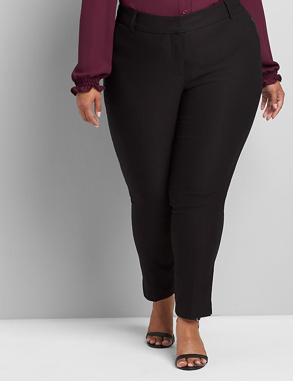Deluxe Fit Low-Rise Ankle Allie Pant