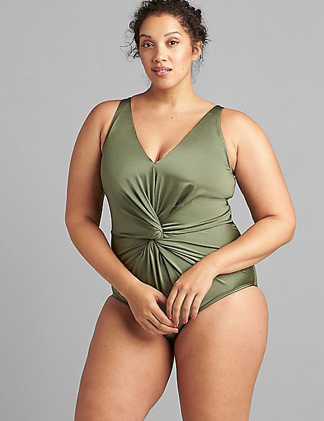 Twist-Knot Swim One Piece