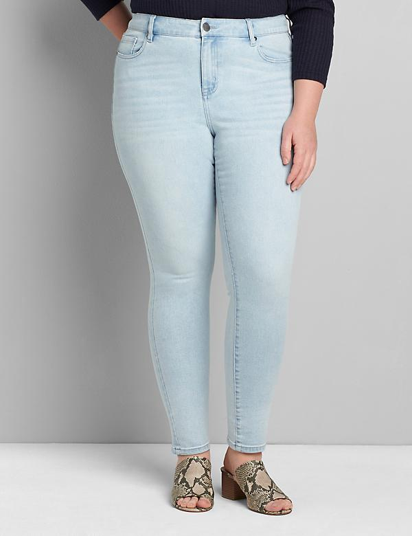 Signature Fit High-Rise Skinny Jean - Light Wash