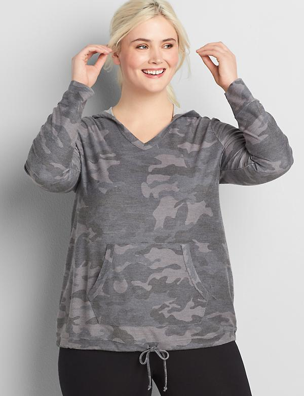 LIVI French Terry Hoodie - Camo