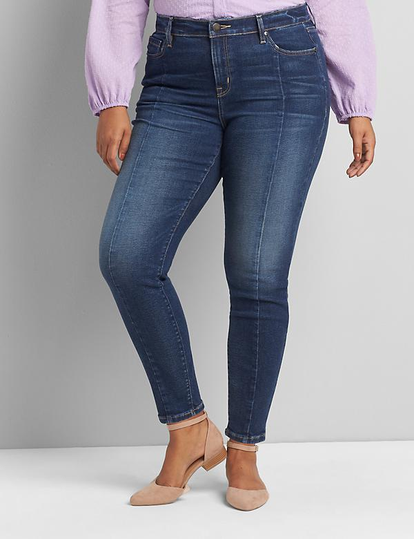 Signature Fit High-Rise Skinny Jean - Center Seam