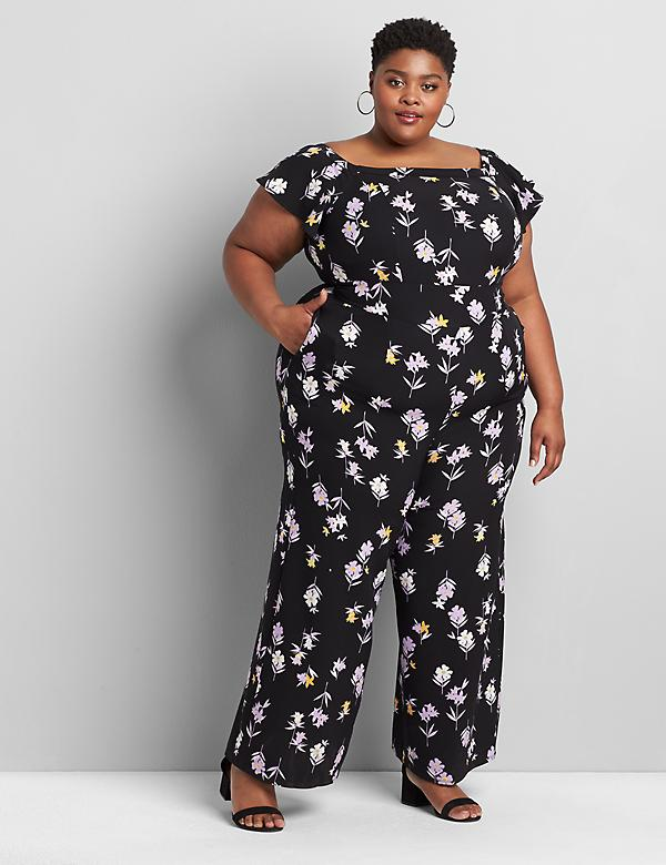 Lena Off-The-Shoulder Jumpsuit