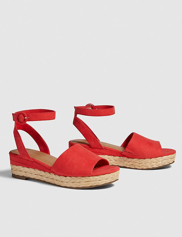 Dream Cloud Espadrille Wedge Sandal