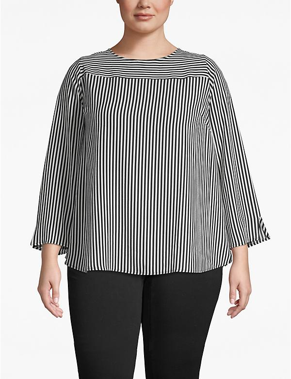 Printed Seamed Top