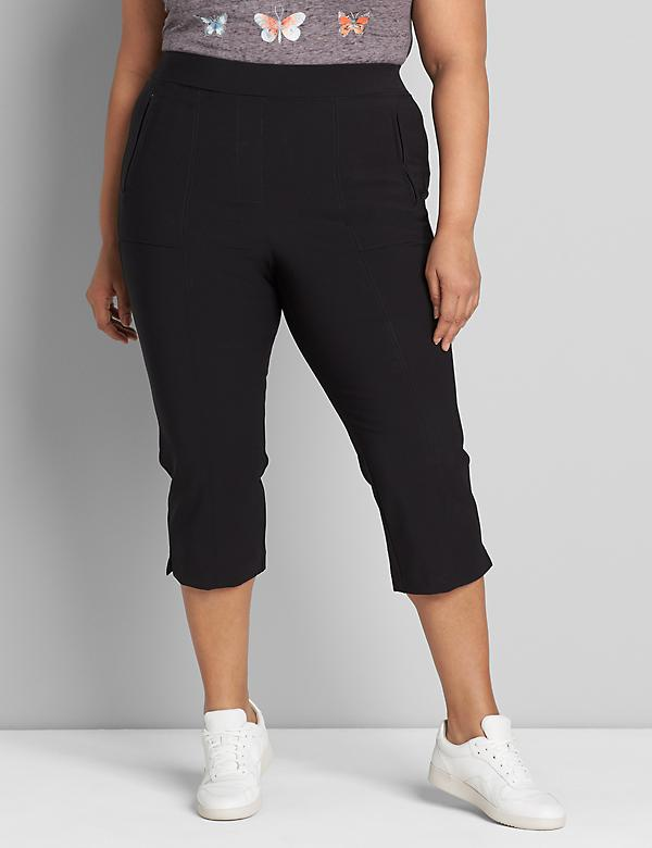 On-The-Go Pull-On Pedal Pant
