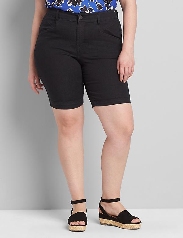 Curvy Fit Slim Bermuda Short