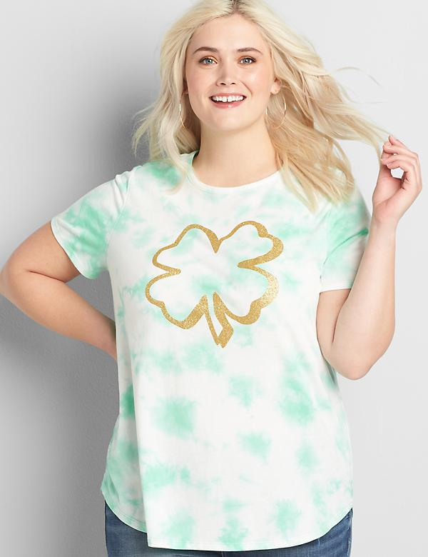 Four Leaf Clover Graphic Tee