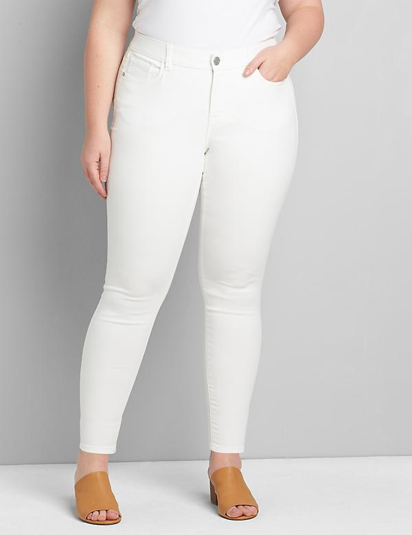 Lane Essentials Venezia Skinny Jean - White