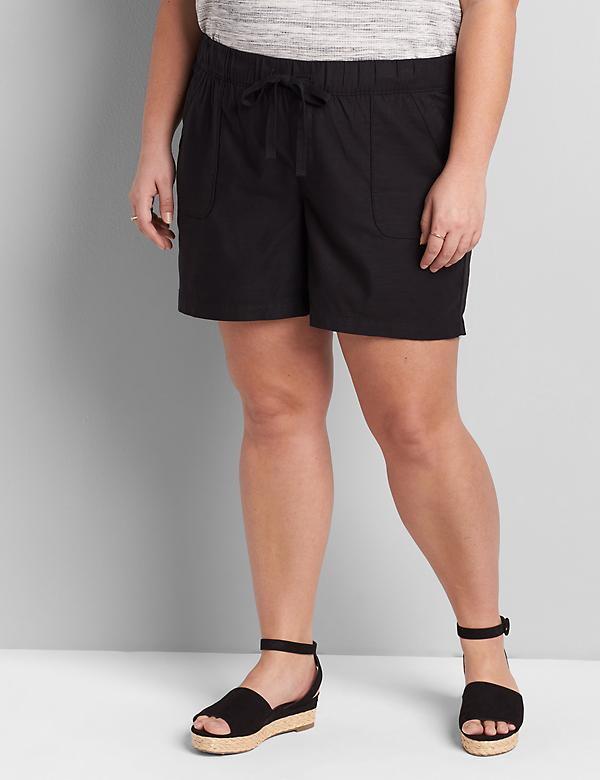 Soft Pull-On Midi Short
