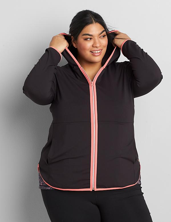 LIVI Zip-Front Hooded Jacket