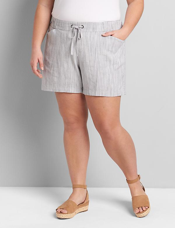 Lane Essentials Pull-On Short - Striped
