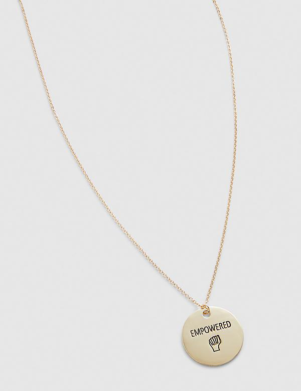 Empowered Charm Chain Necklace