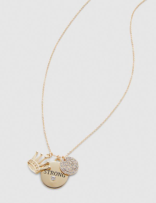 Strong Charm Chain Necklace