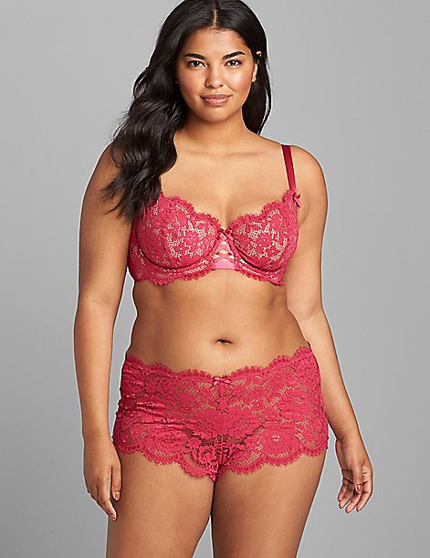 Lace Unlined Balconette Bra