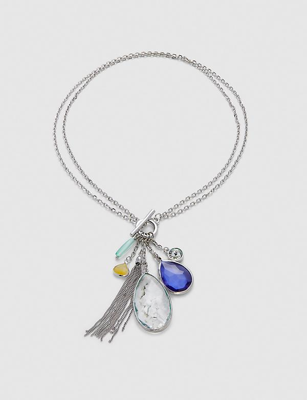 Convertible Pendant Toggle Necklace