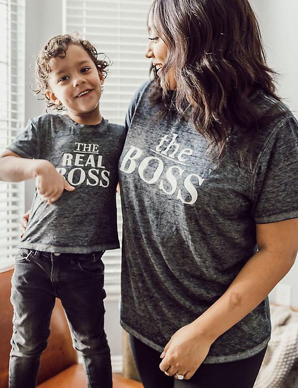 The Boss Graphic Tee