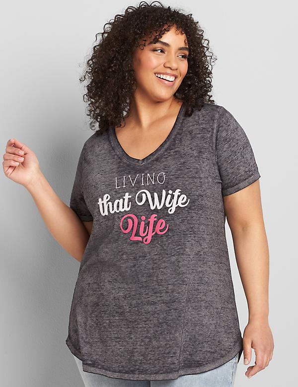 Living That Wife Life Graphic Tee