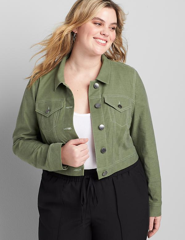 Soft Crop Jacket