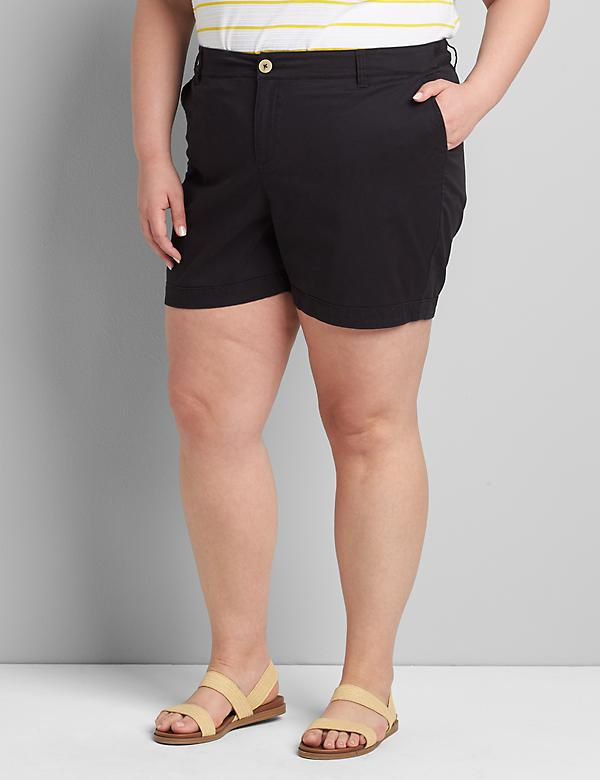 Signature Fit Boyfriend Midi Short