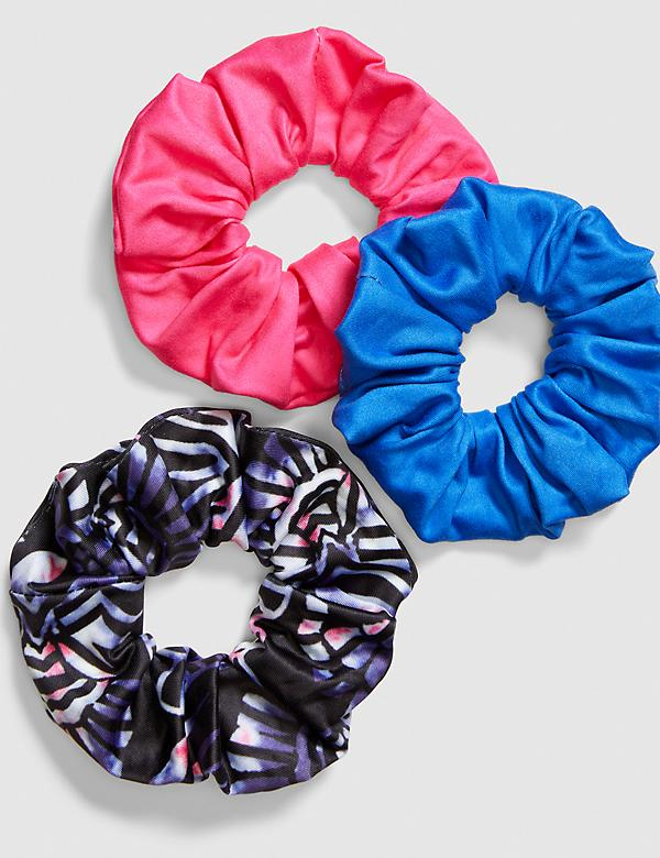 Hair Scrunchies - 3-Pack - Print