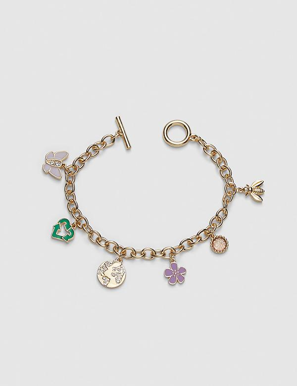 Earth Day Charm Bracelet