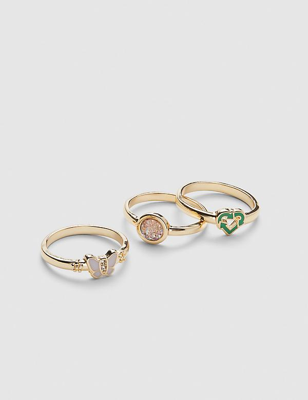 Earth Love Rings - 3-Pack
