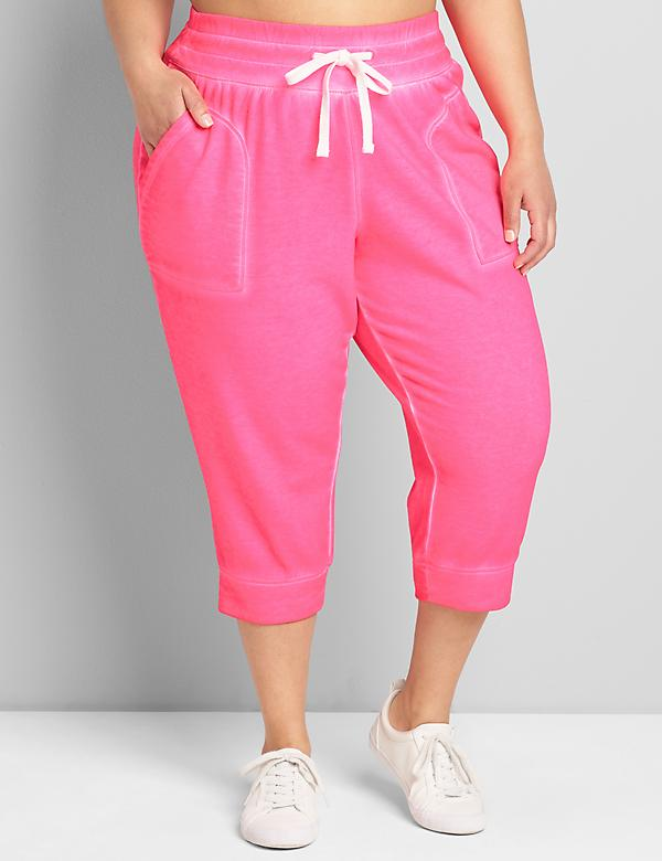 LIVI French Terry Capri Jogger