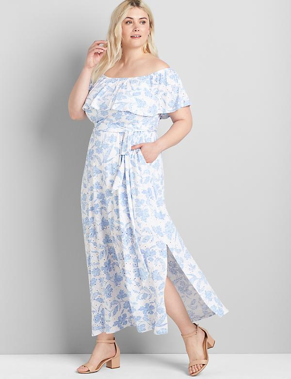 Multi-Way Off-The-Shoulder Maxi Dress