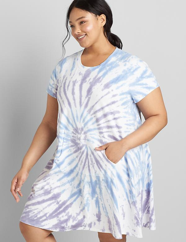 LIVI Tie-Dye Swing Dress