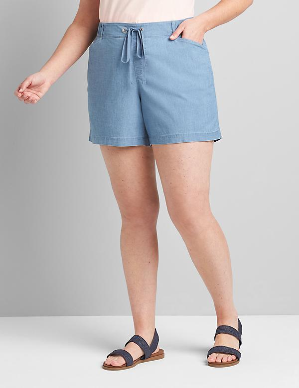 Lane Essentials Pull-On Midi Short