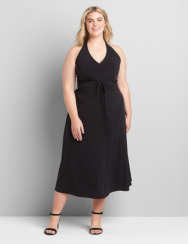 Details about  /Lane Bryant Black /& Tan Dress Size 18//20