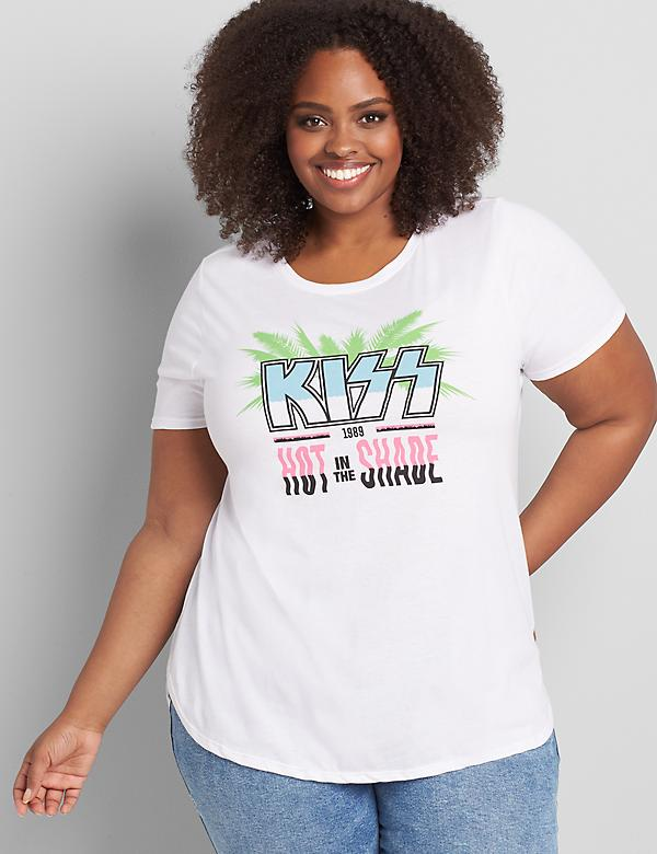 Kiss Graphic Tee - Hot In The Shade