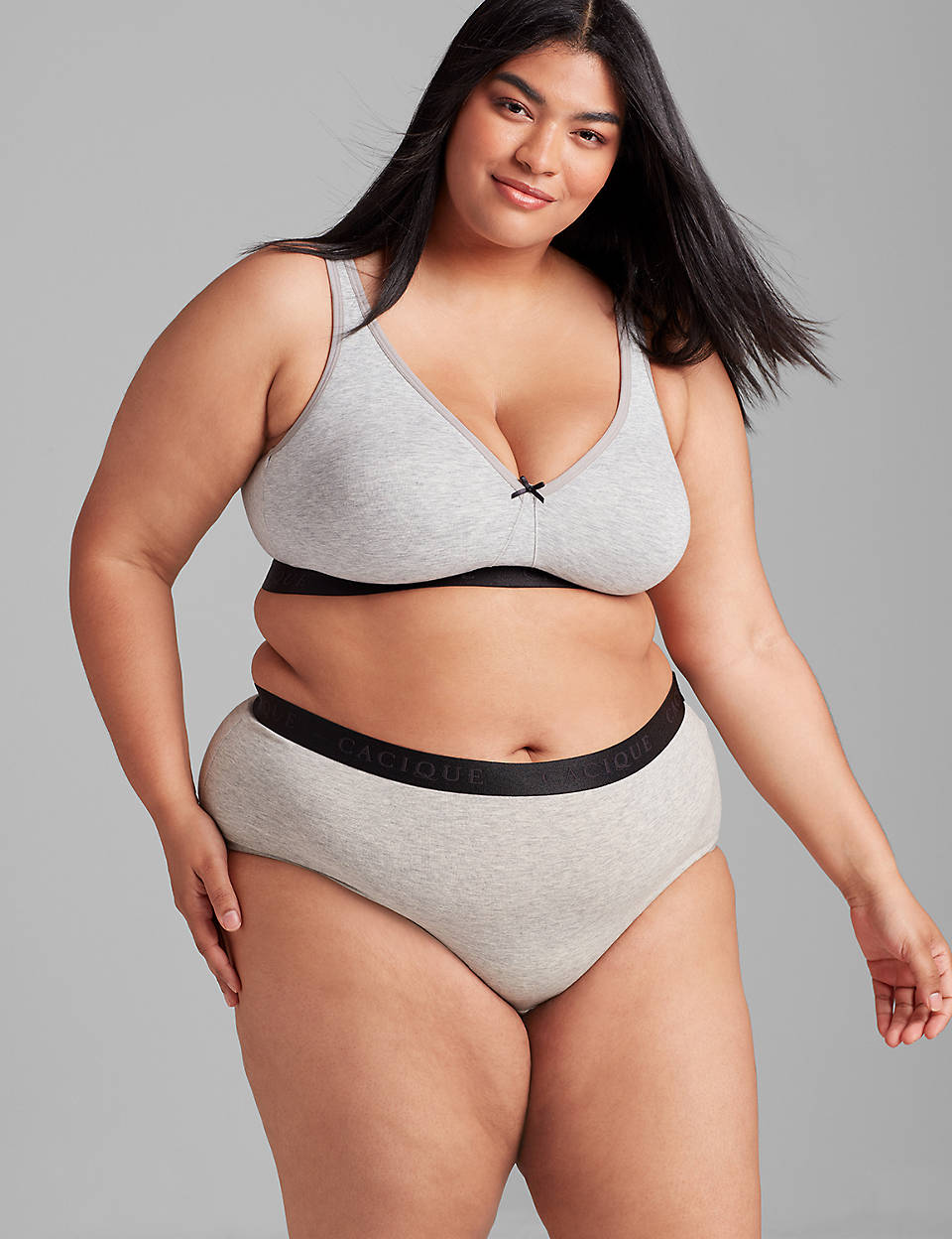 c4e177e750295 Plus size cotton no wire bra by Cacique